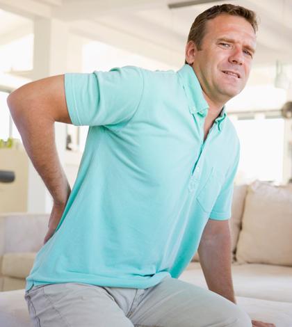 Ein Grund für Rückenschmerzen ist vor allem zu wenig Bewegung