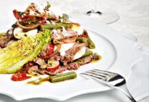 Knackig frischer Tafelspitz-Salat zum selber zubereiten mit Rezept