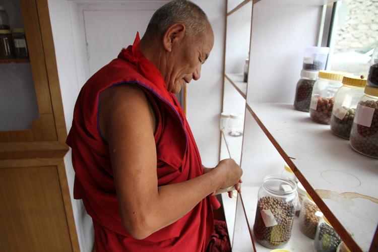 Tibetische Medizin basiert auf Heilpflanzen