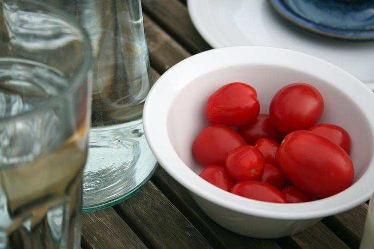 Cherrytomaten schmecken frisch gepflückt am besten
