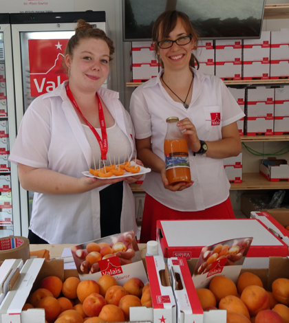 Schweizer Aprikosen aus dem Wallis