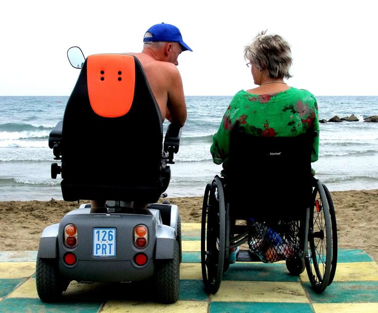 Auch im Rollstuhl ist Urlaub idyllisch