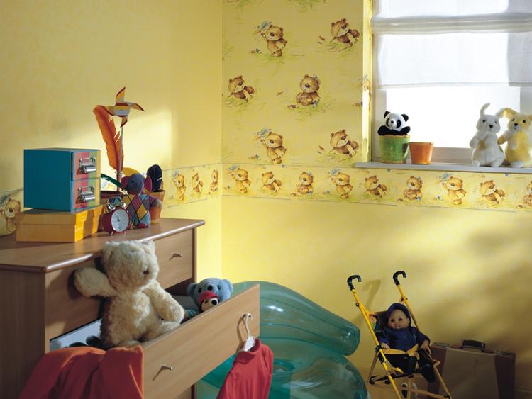 Bei Kindern wirkt sich Gelb positiv auf Lebensfreude und Arbeitslust aus.