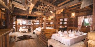 Urige und schöne Luxus-Gaststube