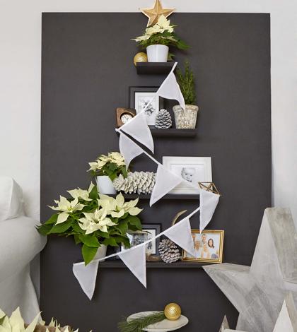 Weihnachtsbaum mal anders - Weihnachtsbaum modern ...