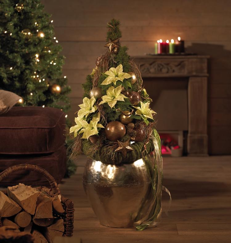 weihnachtsbaum mal anders. Black Bedroom Furniture Sets. Home Design Ideas