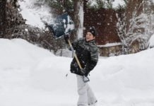 Schneeschaufeln, aber richtig