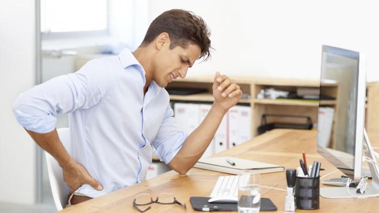 Schmerzen am Arbeitsplatz