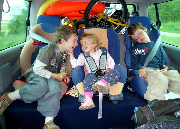 Unterhaltung während Autoreisen ist wichtig
