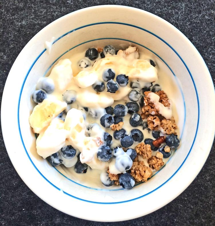 Yoghurt als Snack für zwischendurch