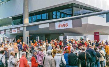 Eingangsbereich der Inviva Freizeitmesse