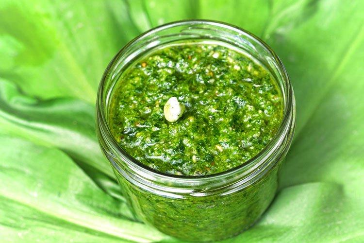 Rezept für Bärlauch-Pesto