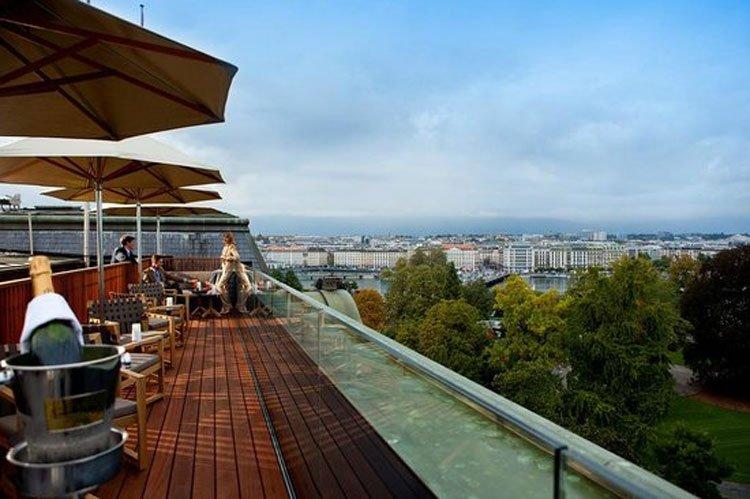 Skybar 5 Lounge Genf