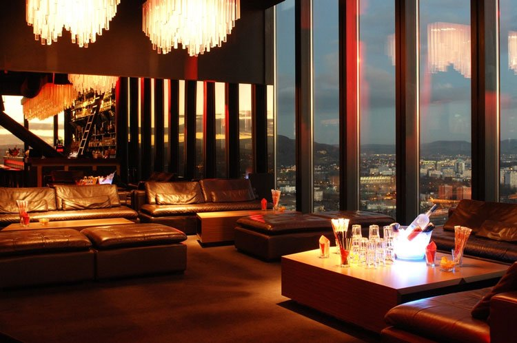 Skybar Bar Rouge Basel