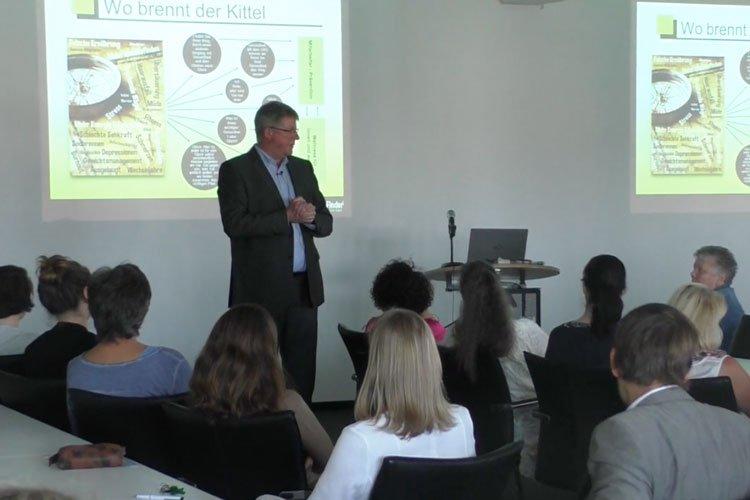 """Vortrag von Ralf Wuzel zum Thema """"Stress am Arbeitsplatz"""""""