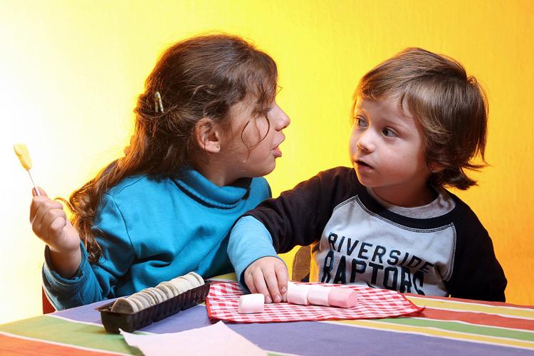 Lebensmittel-to-go-Kultur ist bei Kindern bei Süssigkeit ausgeprägt
