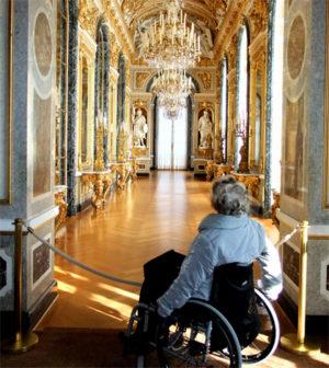 Mit dem Rollstuhl bei König Ludwig im Schloss Neuschwanstein