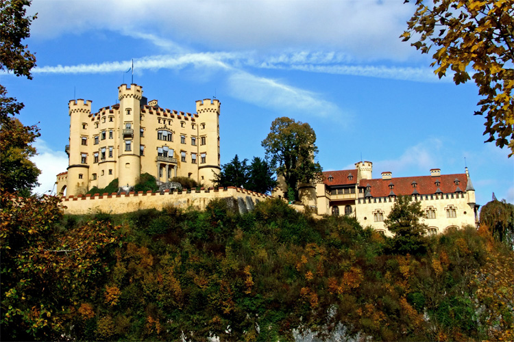 Schloss Hohenschwangau von König Ludwig II.