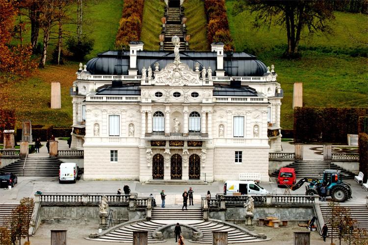 Das Schloss Lindenhof von König Ludwig II.