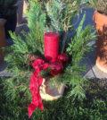 Weihnachtsgesteck herstellen
