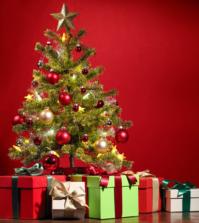 Weihnachtsgeschenke an Heiligabend