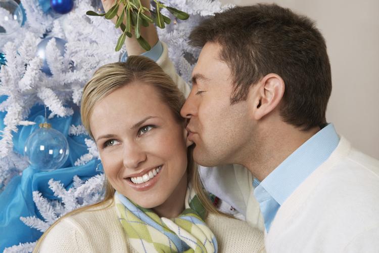 Mistel als Zeichen einer baldigen Heirat