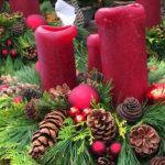Weihnachtsgesteck schnell und einfach selber herstellen