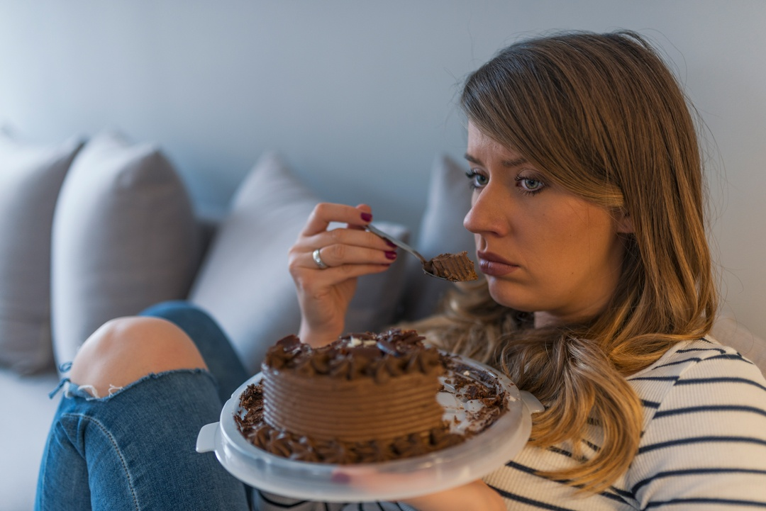 Emotionales Essen bei Traurigkeit