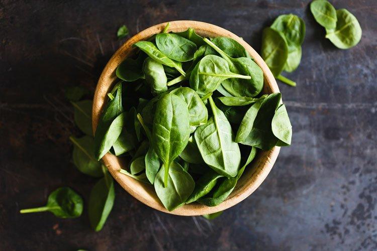 Gesund ernähren mit Spinat