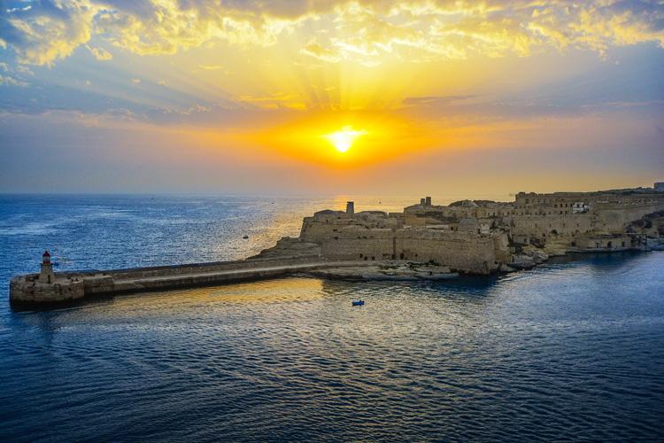 An Ostern nach Valetta/Malta