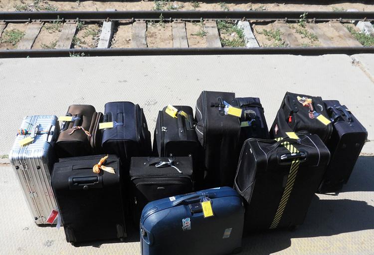 Reisegepäck für Ostern