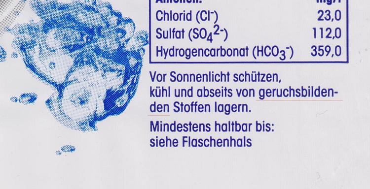 Geruch in Plastikflaschen