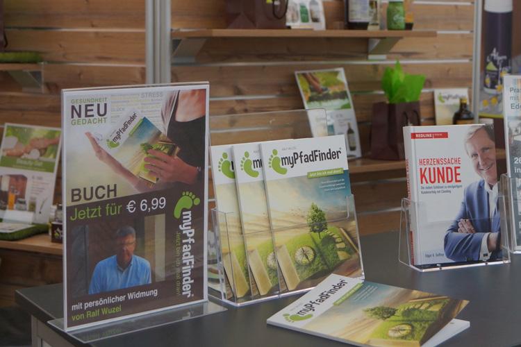 """Buch """"myPfadFinder"""" von Ralf Wuzel"""
