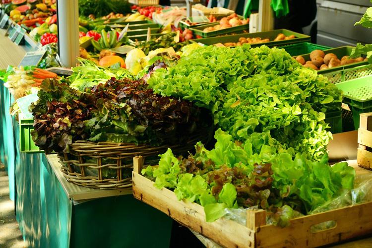 Salat vom Markt