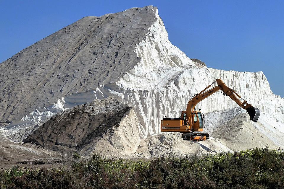 Industrielle Salzgewinnung