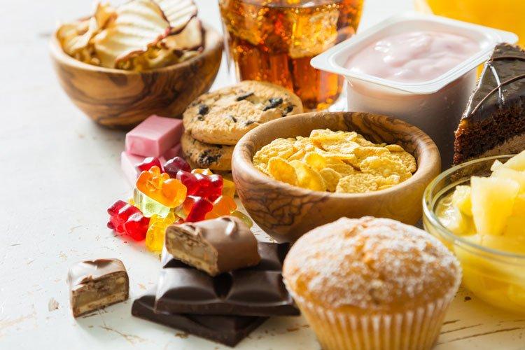 Zuckersucht bei der Ernährung
