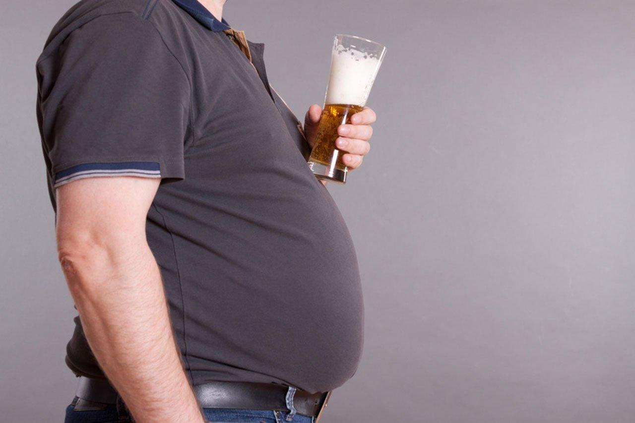 Bierbauch durch Bier, Zucker oder Fett