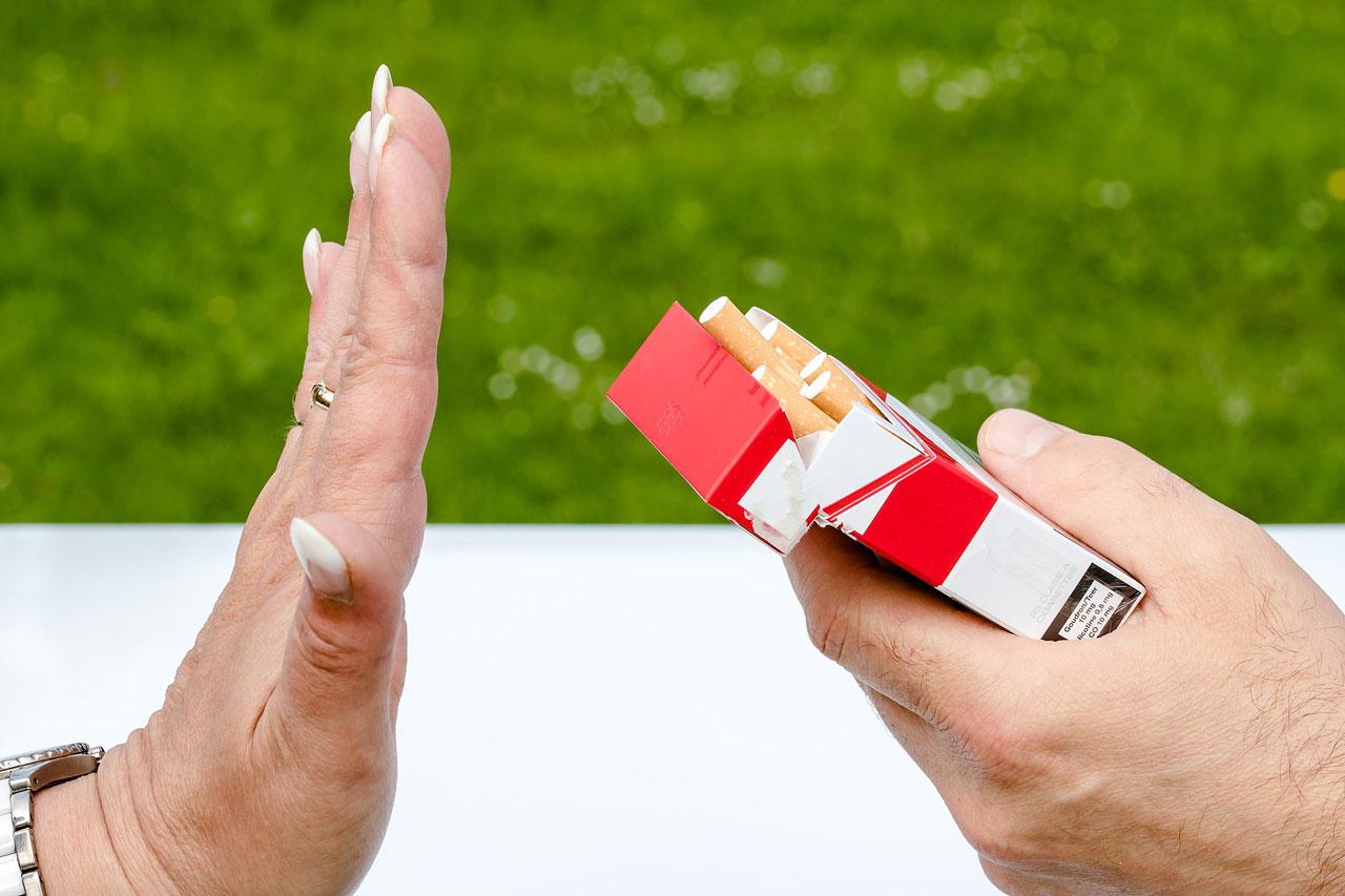 Raucherstop - Zigarette ablehnen
