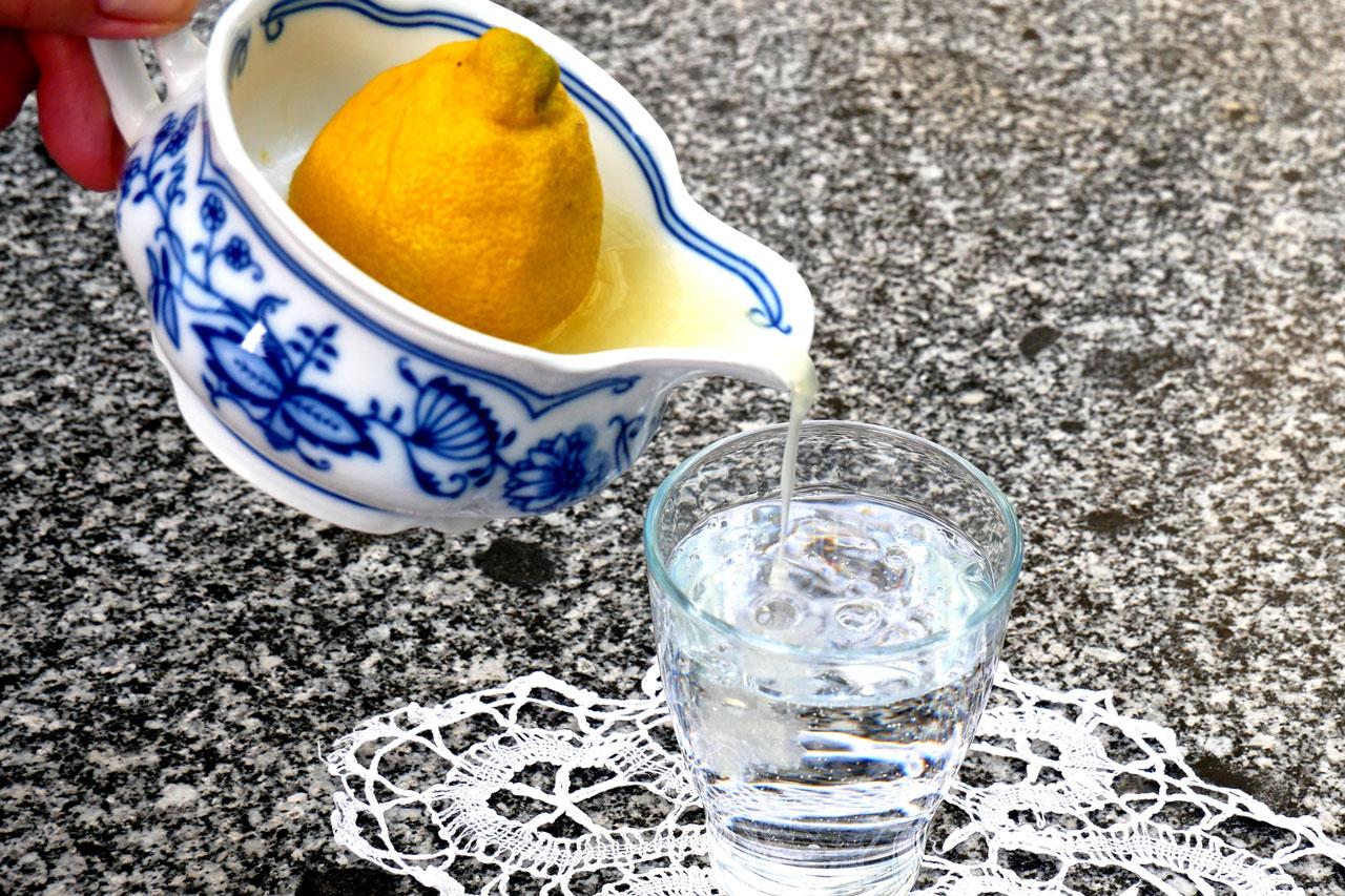 Aroma von der Zitrone