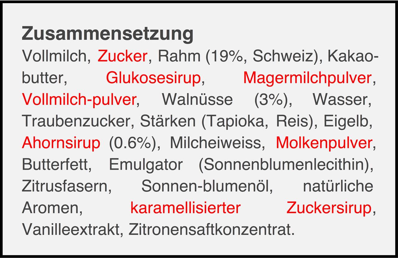 Weitere Angaben von ZUcker
