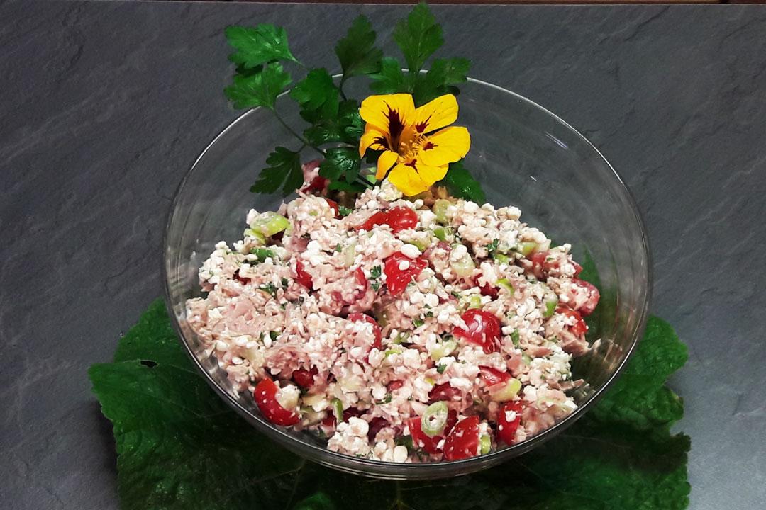 Gesund und fit durch den Alltag: Thunfischsalat zum Mitnehmen