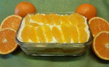 Orangen-Tiramisù frisch zubereitet