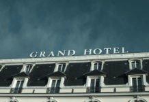 Hotel-Aussenansicht bei der Ankunft