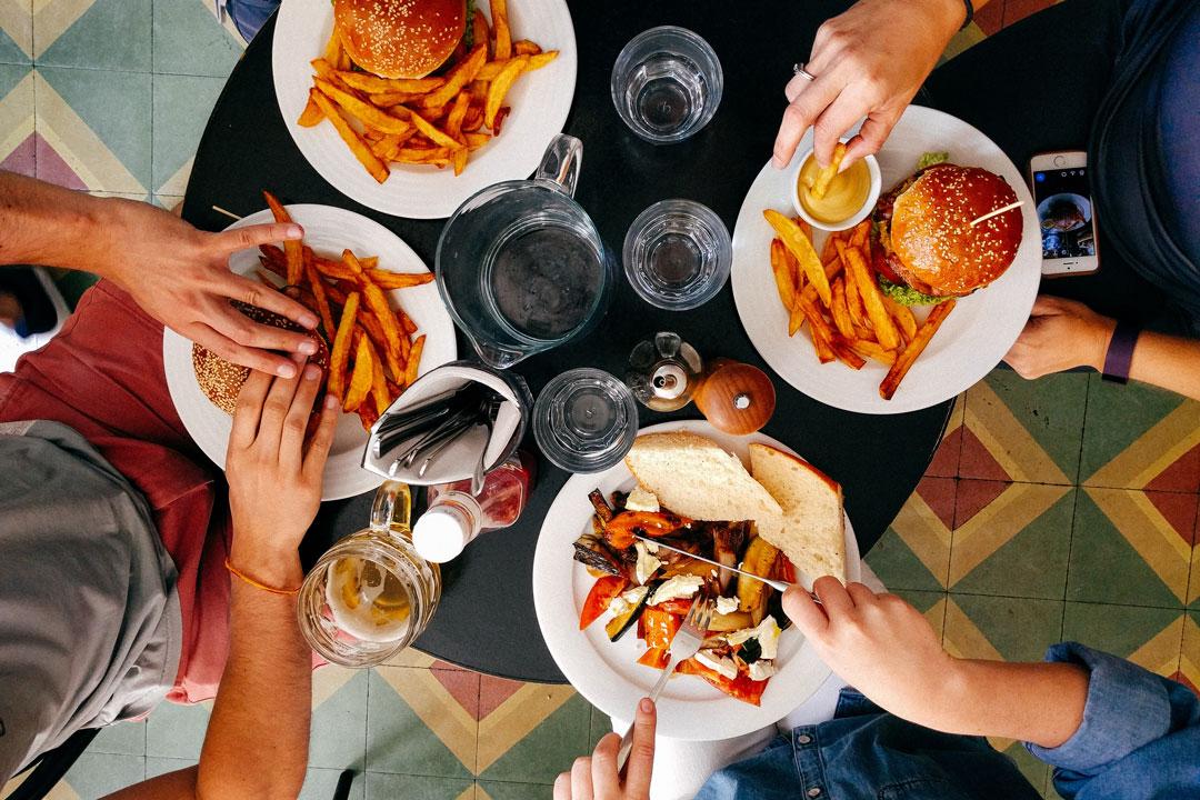Essen unter Zeitdruck