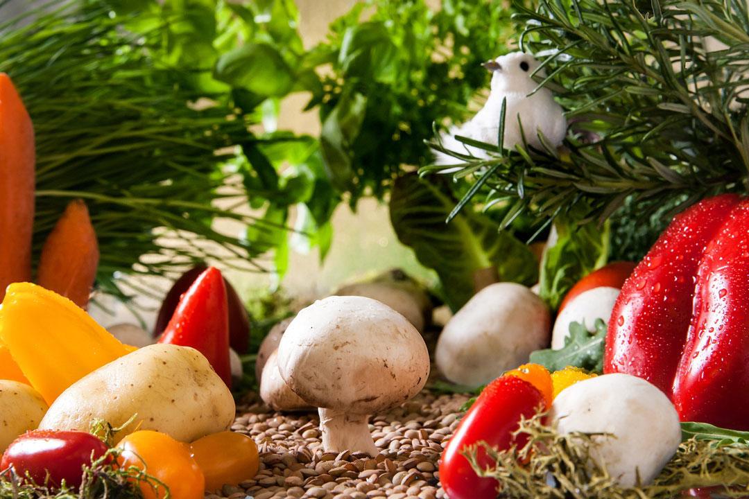 Gemüsebeilage zum Raclette