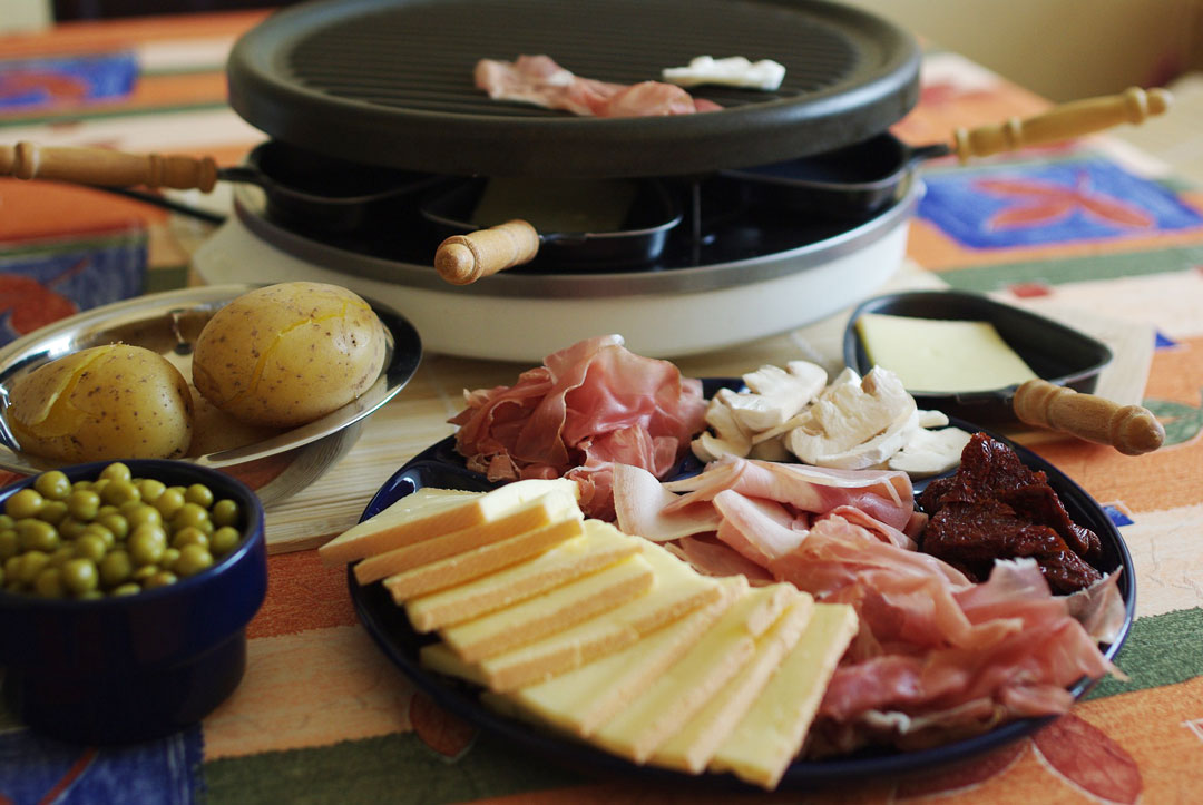 Raclette zur Silvesterparty