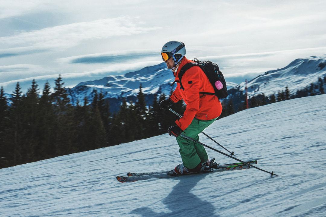 Skifahrer sollten ihre Ski gleichmässig belasten