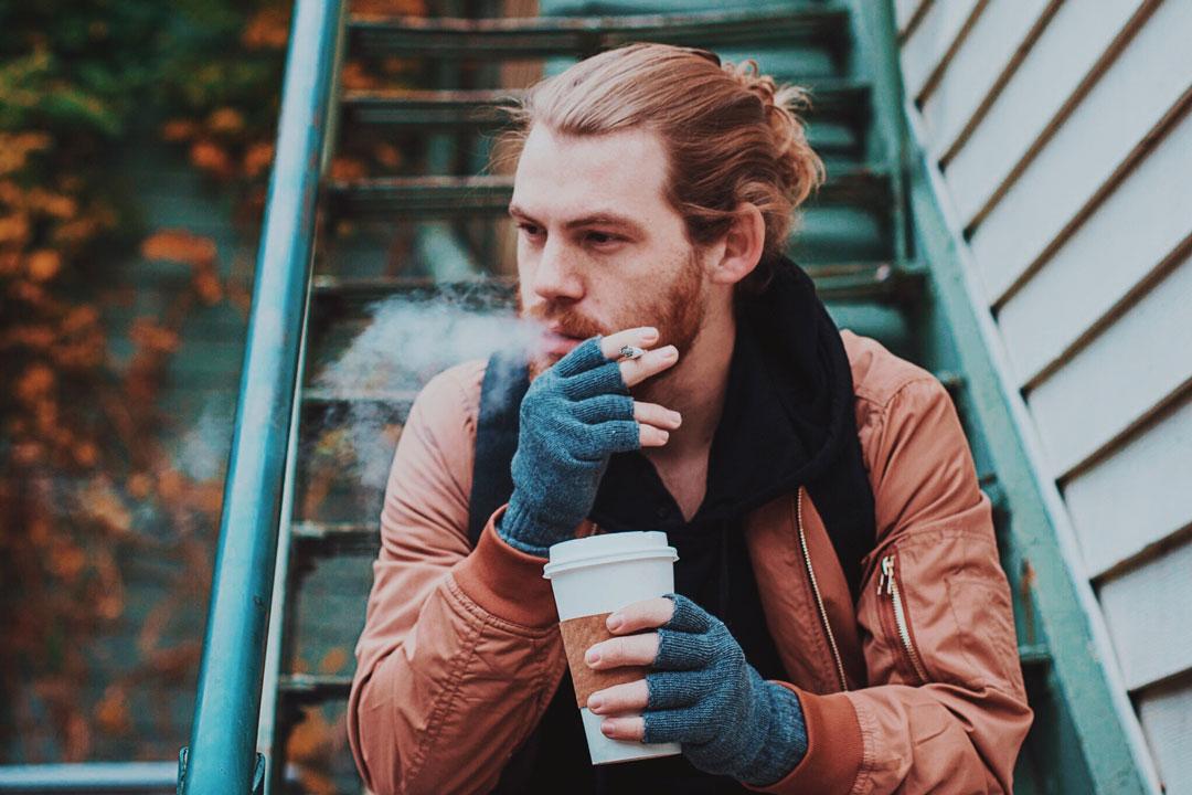 Angewohnheit Rauchen