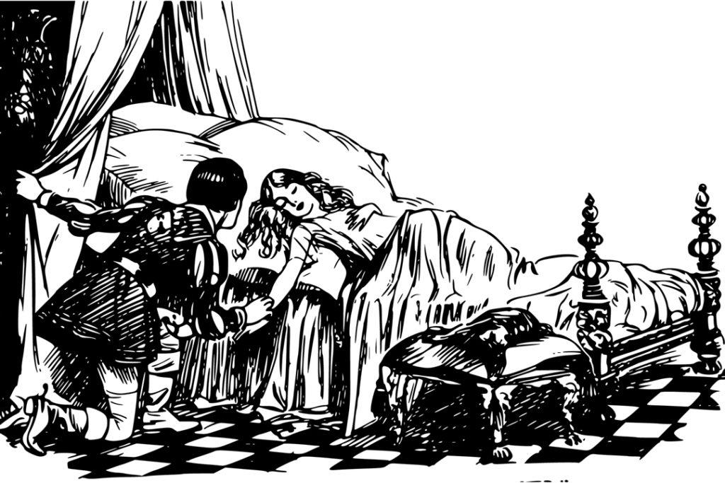 Dornröschen ist seit 1812 ein Kinder- und Hausmärchen der Brüder Grimm.