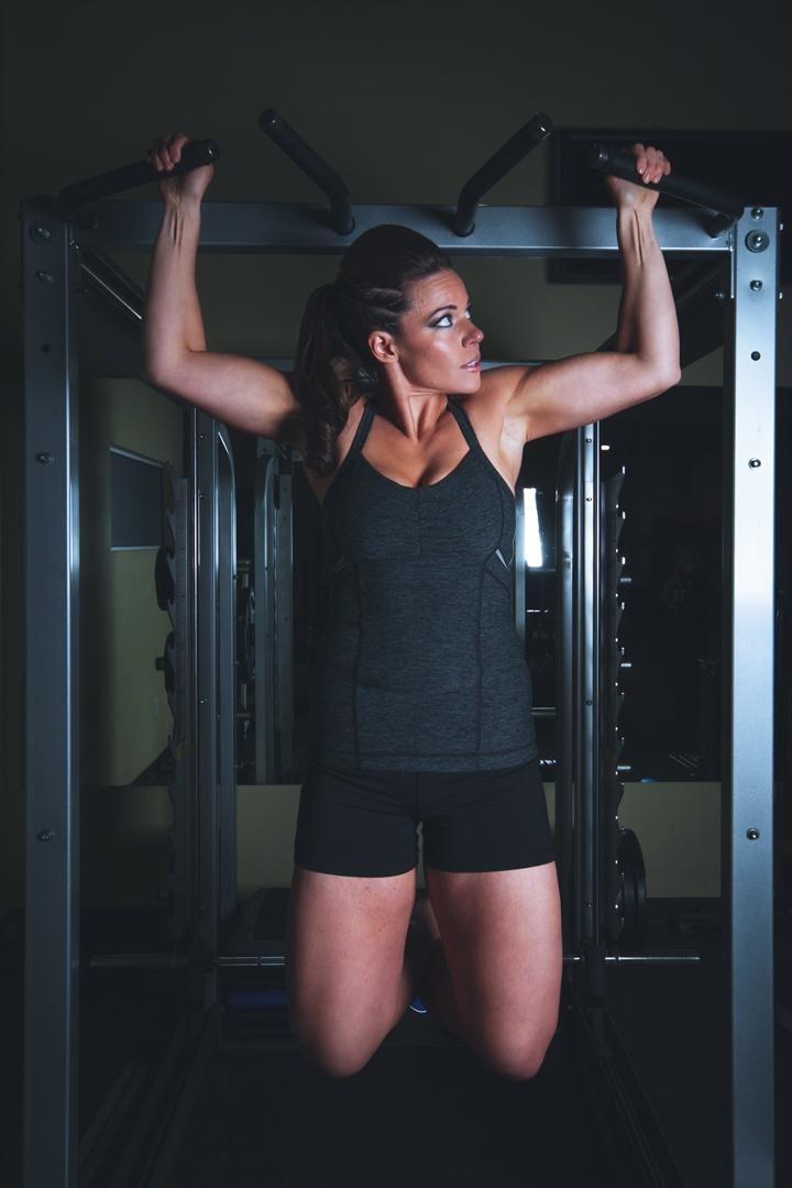 Aufbau der Muskeln bei Frauen